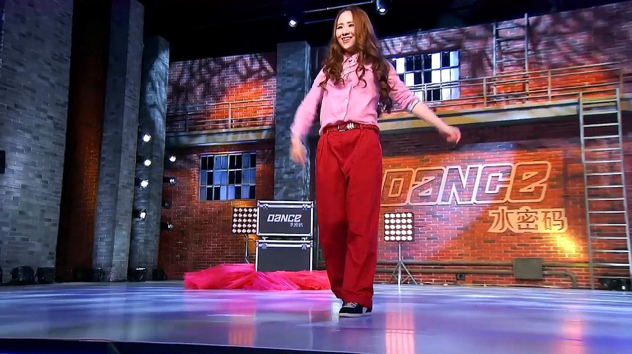 中国好舞蹈:19岁女孩好舞蹈舞台,精彩街舞表演,金星称震撼
