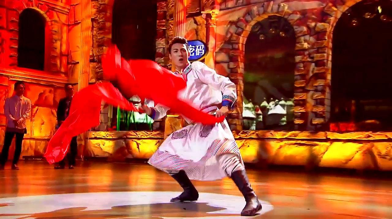 中国好舞蹈:好舞蹈对抗赛,学员威力斯表演蒙古舞,引观众惊奇